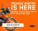 Orange Winter KTM.