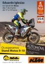 Sábado 7 de marzo. Firma  Eduardo Iglesias con KTM 450 RALLY FACTORY REPLICA. Salón del Automóvil y Motocicleta